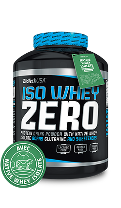 BIOTECH Iso Whey 908 Grammes Fraise